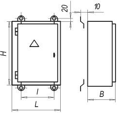 НКУ защиты, сигнализации и автоматики ЯЭ 1400 ШЭ 1400