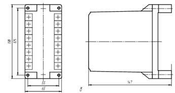 Реле максимального тока статические РСТм-11