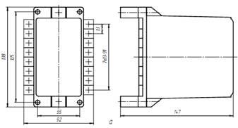 Реле тока двустабильные РТДм-11, РТДм-12